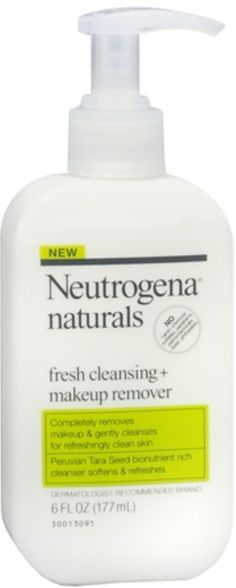 Neutrogena Naturals Fresh Cleansing + Makeup Remover 6 oz