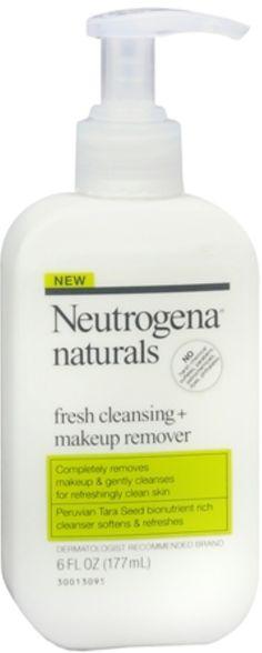 Neutrogena Naturals Fresh Cleansing + Makeup Remover 6 oz