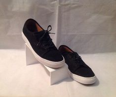 2fbd84a595 Vans VERSA Skate Shoes Black White Oiled Suede (234) Men s Shoes  Skateboarding  VANS  SkateShoes