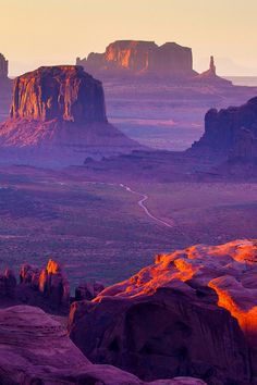 Hunts Mesa is a rock formation located in Monument Valley, just south of the border between Utah and Arizona in the United States and just west of the border between Arizona's Navajo County and Apache County.