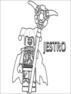 Lego Nexo Knights Coloring Pages 21