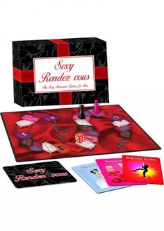 Sexy Rendez Vous Game #sextoys #sextoysshop #Games #Novelties #extras #Couples #Pleasure #Party #Fun #playing #cards #Bongage #Body #Fetish #Sex #Toys ... For more information visit: www.sextoysshop.com