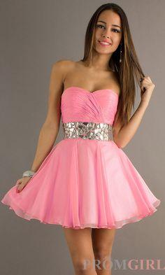 vestidos de fiesta cortos strapless satin+lining corto vestido