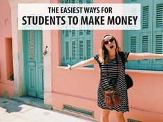 Whether you need to pay for rent need to save money for your your semester abroad we've got some ideas on how you can earn money while you are in college.