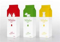 Fun innovative packaging for boring old milk