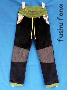 FushuFana: Pantalón TAU (con enlace a patrón gratis y tutorial)