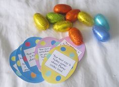 Easter Egg Scavenger Hunt. Cute!
