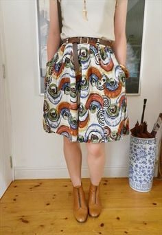 Abstract Pattern Culottes