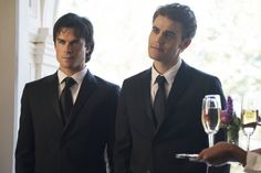 Find images and videos about the vampire diaries, tvd and ian somerhalder on We Heart It - the app to get lost in what you love. Vampire Diaries Stefan, Vampire Diaries Series Finale, Vampire Diaries Seasons, Vampire Diaries Cast, Vampire Diaries The Originals, Damon Salvatore, Ian Somerhalder, Nina Dobrev, Caroline Forbes