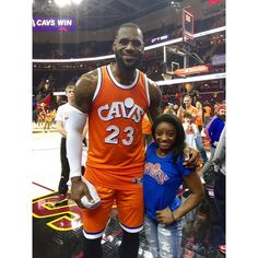 "Simone Biles on Instagram: ""lebron james"""