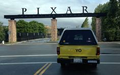 """YO"" 1988 Toyota Pickup Pizza Planet Pixar Studios 182074 Photo 1 - trucktrend.com"