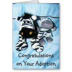 ADOPTION CARDS - CONGRATULATIONS CARDS