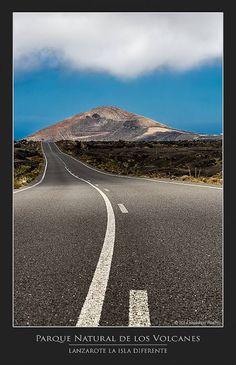 PhotoTour Lanzarote - Google+ Toscana, Mount Rainier, Country Roads, Tours, Mountains, Nature, Travel, Sign, Google