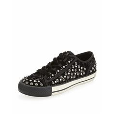 e8acfde2ee Vox Embellished Velvet Sneaker