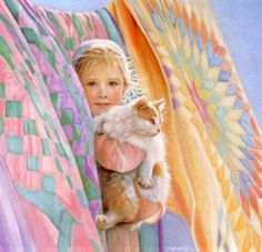 """""""Colors of Summer"""" by Nancy Noel (American) 