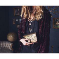 Lana Beaded Jacket and Mexicana Wallet #cleobella