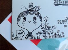 Follow the White Bunny: Best envelope ever!