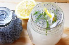Basil Seeds and Coconut Water drink! This is a hydrating, filling, AND YUMMY drink to keep you feelin good :)