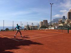 Rafa Nadal  10 April ·  Ya en Monte Carlo... smile emoticon Already in Monte Carlo... smile emoticon