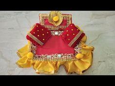 Handmade Bed For Laddu Gopal Diy Crafts Videos, Fun Crafts, Janmashtami Decoration, Laddu Gopal Dresses, Ganapati Decoration, Bal Gopal, Ladoo Gopal, Gender Reveal Party Decorations, Lord Krishna Wallpapers