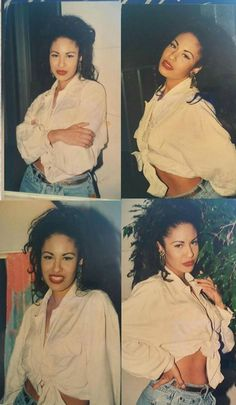 """This is a tribute page to singers: Selena Quintanilla Aaliyah & rapper: Lisa """"Left-Eye"""" Lopes Selena Quintanilla Perez, Fashion Models, 2000s Fashion, Fashion Outfits, Celebrities Fashion, Vogue Editorial, Outdoor Fotografie, Chola Style, Women's 90s Style"""