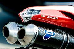Ducati 1098 avec échappement Termignoni