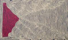 RONNIE TJAMPITJINPA Untitled Acrylic on Belgian Linen 48 4/5 × 80 3/10 in 124 × 204 cm
