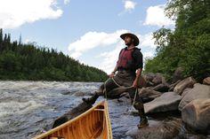 Up the Naskaupi River
