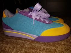 088e3af8c6cca Details about Men s-Pharrell Williams-Ice Cream-Board yellow blue  Pink-Size  7 Reebok TK