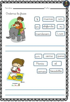 1st Grade Writing, Grade 1, Montessori, Acting, Homeschool, Language, Teacher, Education, Comics