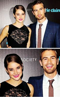 Awww. Not sure if I want them to be together or me and theo together.