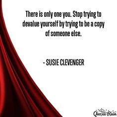self Quotes by Susie Clevenger