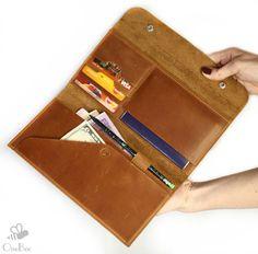Travel Wallet Passport Case Leather Travel Wallet от theOneBee
