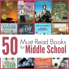 Middle School Reading List for Homeschool