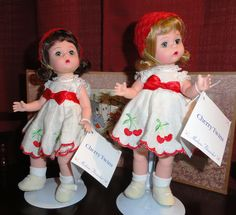 "Madame Alexander Dolls ""Cherry Twins"""