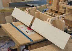 Tilting Router Table Fence