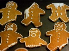 Sell gingerbread men at the shrek shack!