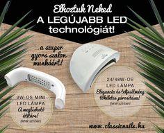 UV/LED lámpák érkeztek Classic Nails, Uv Led, News, Mini