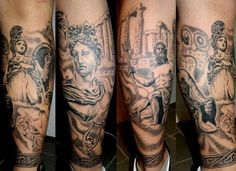 Greek mythology tattoo
