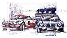 Discover recipes, home ideas, style inspiration and other ideas to try. Monte Carlo, Automobile, Car Illustration, Car Posters, Car Sketch, Bike Art, Automotive Art, Car Painting, Rally Car
