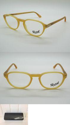 e0134ad554 Fashion Eyewear Clear Glasses 179244  Persol 3053V 9010 Matte Miele Yellow  Frame Rx Eyeglass Frames