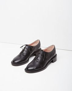 41aba8c04b45 Work wear hack  Did you know it s not good to wear flats every day  Vary  your heel height for optimum foot health. Slightly elevated lace-ups like  these are ...