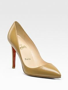 """Christian Louboutin Pigalle pump. """"Simple and balanced. I've never seen someone who didn't look good in it."""" $625, at Christian Louboutin, Hollywood (310-247-9300)."""