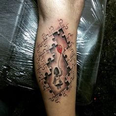Tattoo-Journal.com - THE NEW WAY TO DESIGN YOUR BODY | 55 Unique Exclusive Puzzle Pieces Tattoos For Men and Women | http://tattoo-journal.com