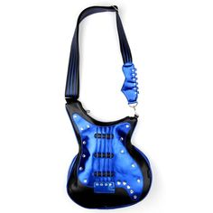 Blue Guitar Handbag.