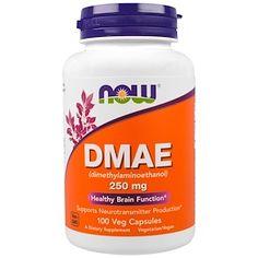 Now Foods, DMAE, 250 mg, 100 Veggie Caps - iHerb.com