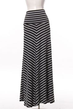 Black and Grey Chevron Maxi Skirt.....they have this same skirt at Walmart and it fits divine!