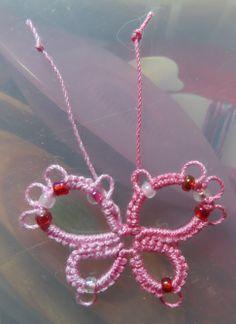 Pretty in Pink - Carol's Butterfly     http://lelia-stitchesoflife.blogspot.com/