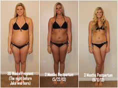 I love this girls Post Baby Diet Advice! Britney Munday: 3 Month Postpartum Progress