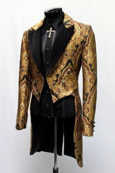 Ghostly #victorian Edwardian sposo uomo Halloween Horror Fancy Dress Outfit